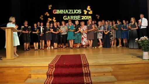"""""""Gimnazijos garbė 2018"""" Daugų Vlado Mirono gimnazijoje"""