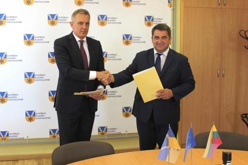 Pasirašyta svarbi bendradarbiavimo sutartis