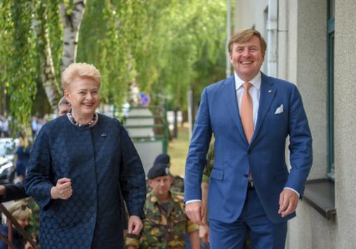 Nyderlandai padeda užtikrinti Lietuvos saugumą
