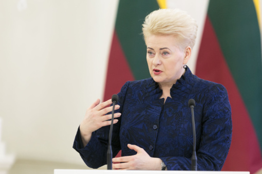 D. Grybauskaitė: pritariame D. Trumpo raginimui didinti išlaidas gynybai