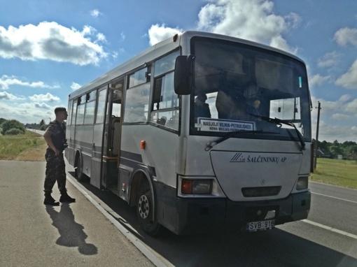 Vilniaus rajono viešajame transporte tikslinės prevencijos akcija