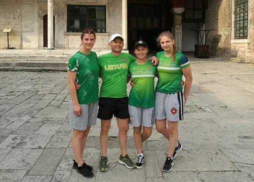 Šiaulietės pasirodė Europos U23 moterų imtynių čempionate Turkijoje