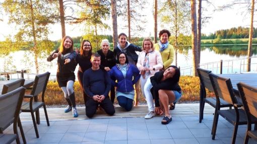 Pažintinis vizitas Suomijoje apie tarptautinį darbą su jaunimu kaimiškose vietovėse