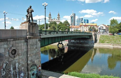 Vilniaus taryba vėl spręs, ar perduoti Žaliojo tilto skulptūras valstybei