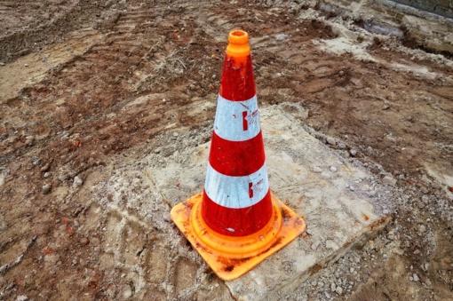 Dėl kelio remonto darbų uždaroma Pasvalio miesto Biržų gatvės atkarpa