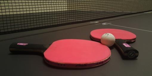 Seserys Riliškytės - Lietuvos jaunučių stalo teniso čempionato nugalėtojos