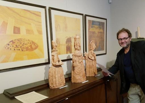 """R. Strazdo skulptūrų parodoje - šventieji ir """"kandidatai"""" į šventuosius"""