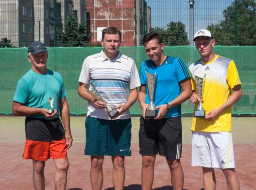 """Radviliškio teniso kortuose – teniso vasaros sezono atidarymo turnyras """"FASMA CUP"""""""