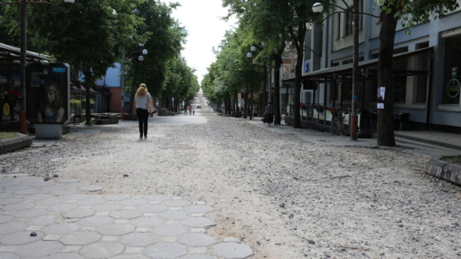 Šiaulių miesto centrą tvarkančiai bendrovei grūmota pirštu (vaizdo įrašas)