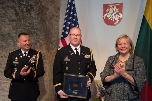 Akredituotas naujasis JAV gynybos atašė Lietuvai