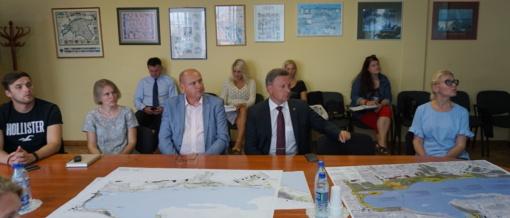Pristatyti Plungės jūros pakrantės sutvarkymo projekto apmatai
