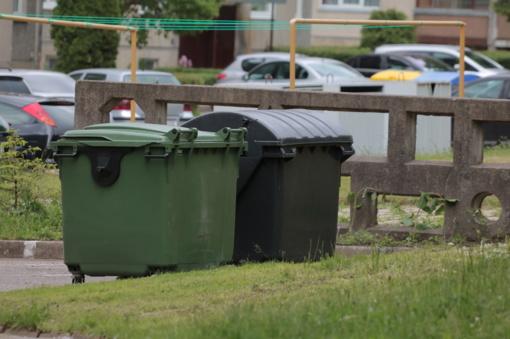 Už mišrių komunalinių atliekų surinkimą ir tvarkymą bus taikoma dvinarė vietinė rinkliava