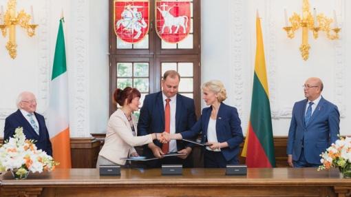 Kaunas pradeda partnerystę su Airijos švietimo ir mokslo specialistais