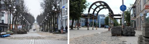 Bulvaro rekonstrukcija užstrigo nė neprasidėjusi