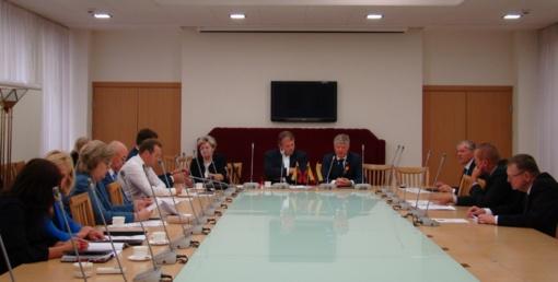 Merė Živilė Pinskuvienė susitiko su Aplinkos ministru