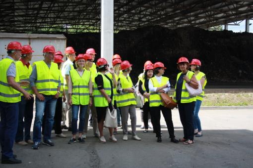 Susipažinta su Šiaulių regiono atliekų tvarkymo sistema