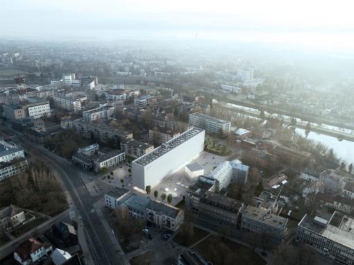 S. Eidrigevičiaus menų centrą Panevėžyje projektuos vilniečių architektų grupė
