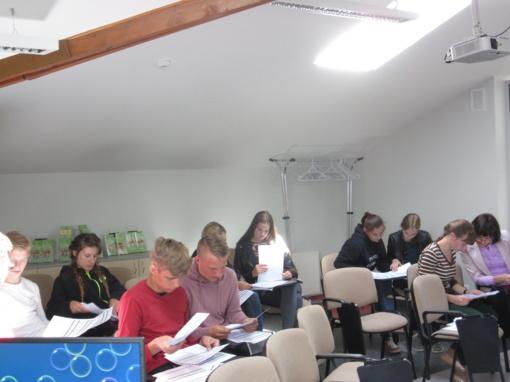 Rokiškio jaunimo darbo centro renginiai vasarą
