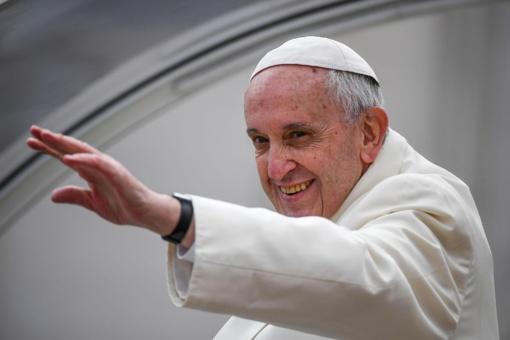 Bus skelbiama registracija į du susitikimus su popiežiumi Pranciškumi