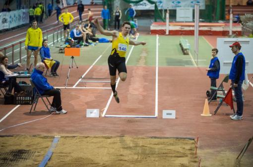 Lietuvos lengvaatlečiai startavo varžybose Minske