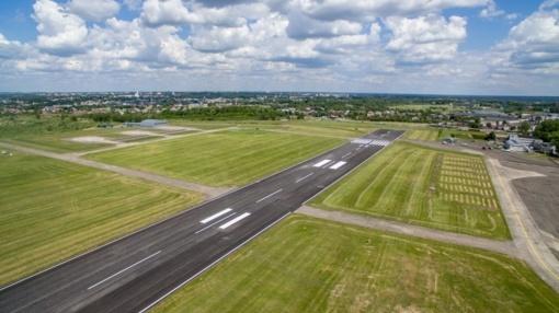 Kaune, Aleksoto aeorodromas, nukrito lėktuvas (papildyta)