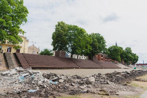 Kaunas pradeda išskirtinio Santakos parko rekonstrukciją (fotogalerija)