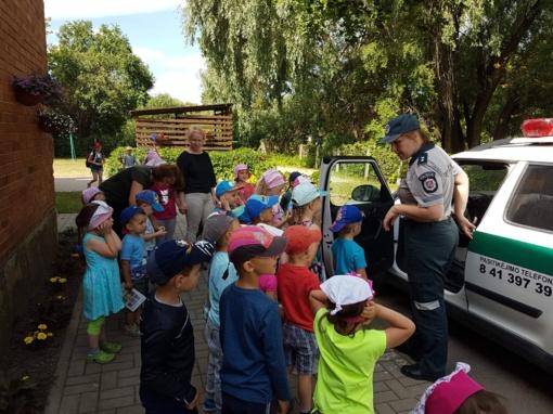 Vaikams primintos saugaus elgesio gatvėje taisyklės