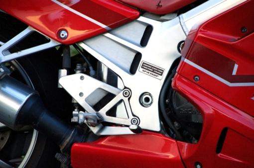 Rokiškyje parblokštas motociklininkas