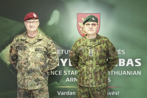 Lietuvoje lankosi Vokietijos kariuomenės vadas