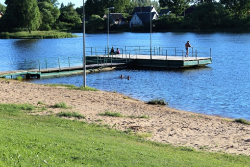 Tiriamų Rokiškio maudyklų vanduo švarus