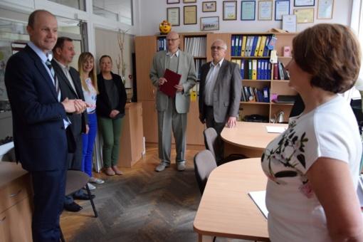 Darbą pradėjo naujasis Vilkaviškio turizmo ir verslo informacijos centro direktorius