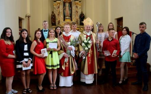 Kučiūnuose – Šv. Jono Krikštytojo Gimimo atlaidai bei garbingi kunigystės jubiliejai