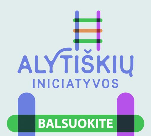 Balsuokite už alytiškių iniciatyvas!