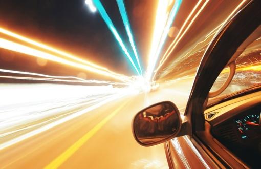 Prancūzijoje sučiuptas britas, automobiliu skriejęs 265 km per val. greičiu