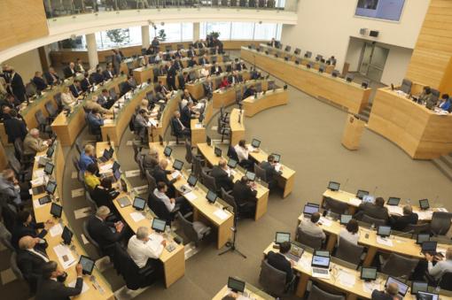 Seimas pritarė naujiems GPM tarifams ir NPD dydžiams
