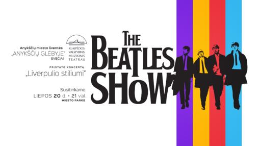 """Anykščių miesto šventėje – žymiausių Klaipėdos valstybinio muzikinio teatro solistų teatralizuotas koncertas """"The Beatles Show"""""""
