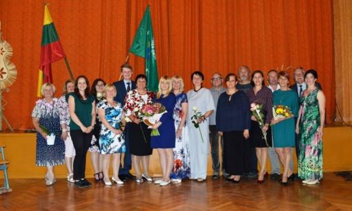 Diplomų įteikimo šventė Joniškėlio I. Karpio žemės ūkio ir paslaugų mokykloje