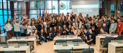 Šiaulių ir Jelgavos mokiniai susitiko tarptautinėje stovykloje