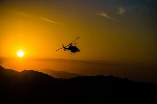 Prancūzijoje garsus vagis iš kalėjimo pabėgo sraigtasparniu