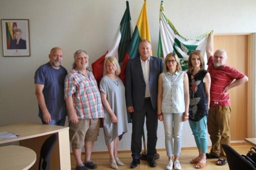 Pagėgių tapybos pleneras skirtas Lietuvos šimtmečiui paminėti (FOTO)