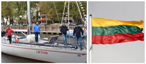 "Šiandien išlydime ""Lietuvą"" į šimtmečio žygį"