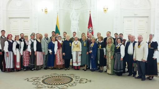 Dainų šventės metu tarp prezidentūroje pagerbtų šventės dirigentų – du Šiaulių universiteto atstovai