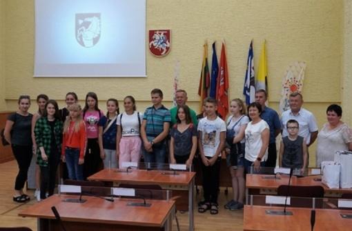 Ukrainos vaikai stovyklavo Lietuvoje