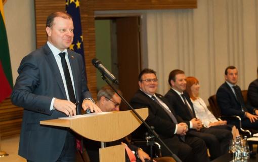 Premjeras: ryšių su diaspora stiprinimas - vienas Vyriausybės veiklos prioritetų