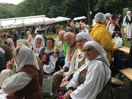 Vilkaviškio rajono savivaldybės meras aplankė šimtmečio dainų šventės dalyvius