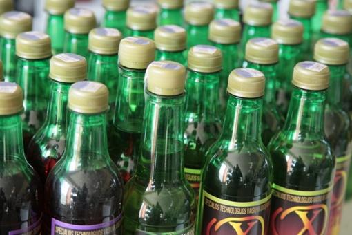 Konfliktas dėl butelio