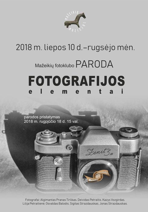 "Paroda ""Fotografijos elementai"""