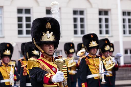 Vilniuje koncertą surengė karališkąjį statusą turintis Nyderlandų kariuomenės orkestras