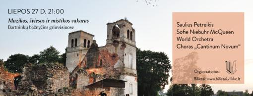 """""""Pasaulio medis"""" Bartninkų bažnyčios griuvėsiuose"""