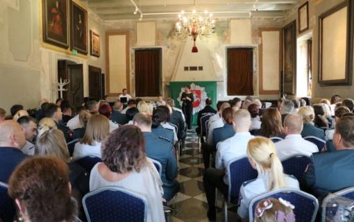 Kaunietė pareigūnė: didžiuojuosi galėdama tarnauti Lietuvai